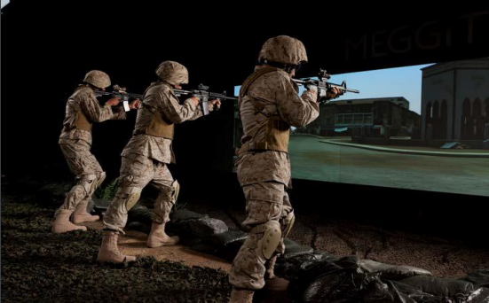 Light weapon shooting simulations with supporting technical services.