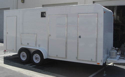 Mobile field toilets