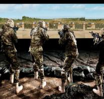 مشبهات رماية الاسلحة الخفيفة مع الخدمات الفنية المساندة