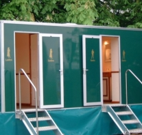 Mobile field toilets
