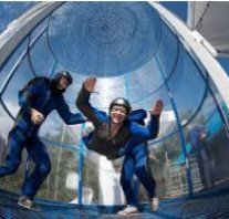 skydiving simulation